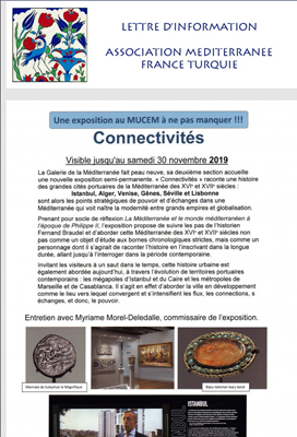 Newsletter de l'Assocaition France-Turquie